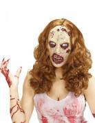 Zombie pruik met masker voor volwassenen Halloween