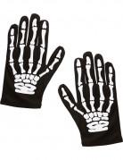 Halloween skelet handschoenen kind