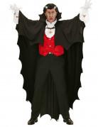 Zwarte vampieren cape voor volwassenen