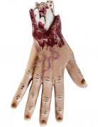 Afgerukte hand Halloween