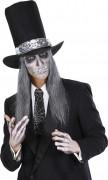 Stropdas met spinnenweb motieven voor volwassenen Halloween