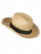 Stro hoed voor kinderen