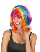 Multi-color pruik voor vrouwen