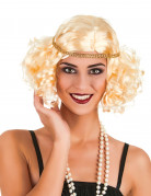 Blonde Charleston pruik voor vrouwen