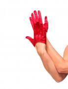 Mini rode handschoenen voor volwassenen