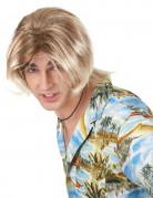 Blonde surfers pruik voor mannen