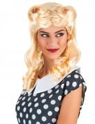 Engels blonde pruik voor vrouwen