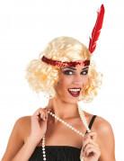 Blond Charleston pruik voor vrouwen