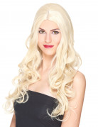 Gekrulde blonde pruik voor vrouwen - 251 g