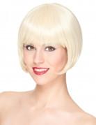 Luxe korte blonde pruik voor vrouwen