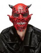 Rode duivel masker voor volwassenen Halloween