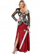 Luxe ridder kostuum voor vrouwen