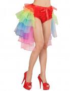 Burleske meerkleurige tutu voor vrouwen