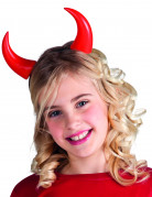 Rode Halloween hoorns voor kinderen