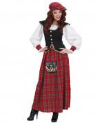 Schotse outfit voor dames