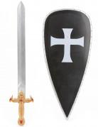 Ridder zwaard en schild set voor kinderen
