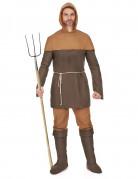 Middeleeuwse boer outfit voor heren