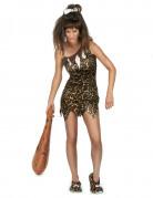 Prehistorische vrouw kostuum