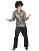 Zilver discokostuum voor mannen Leuven