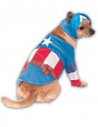 Captain America™ hondenkostuum