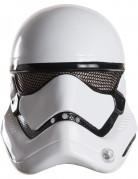 Stormtrooper - Star Wars VII™ masker 1/2 voor volwassenen