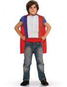 Superhelden top met cape - Frankrijk