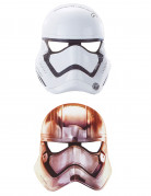 6 Star Wars VII™ maskers