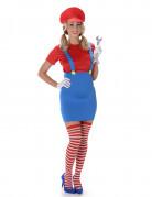Rood loodgieter kostuum voor vrouwen Leuven