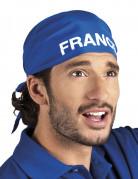 Blauwe supporter bandana Frankrijk