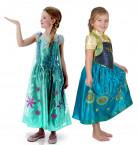Anna en Elsa Frozen Fever™ koppelkostuum voor meisjes