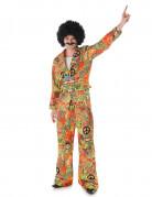 Peace and love hippie kostuum voor mannen