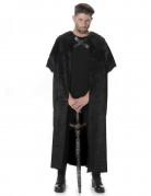 Zwart nachtwacht kostuum voor mannen