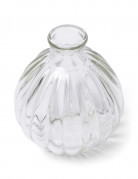 Kleine glazen vaas 10 cm