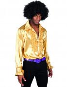 Goudkleurig disco overhemd voor mannen