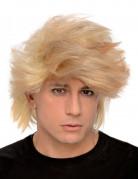 Blonde pruik met wilde haren voor mannen