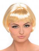 Korte blonde carré pruik voor dames