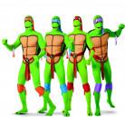 Ninja Turtles groepscarnavalskleding Den Bosch
