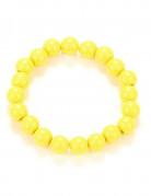 Gele kralenarmband voor volwassenen