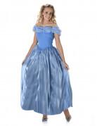 Blauw Assepoester kostuum voor vrouwen