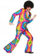 Psychedelisch hippie kostuum voor mannen