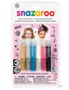 6 Snazaroo™ schmink stokjes voor meisjes