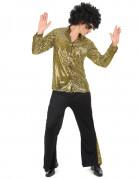 Gouden disco kostuum