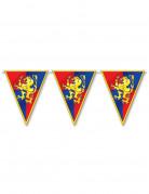 Middeleeuwse vlaggenslinger