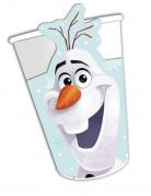 8 kartonnen Olaf Kerstmis™ bekers