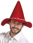 Rode Beierse hoed voor volwassenen