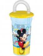 Mickey™ beker met rietje
