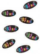 80 confetties 80 ans