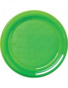 30 groene plastic borden