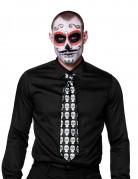 Dia de los Muertos stropdas voor volwassenen