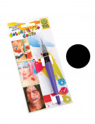 Zwarte make-up pen